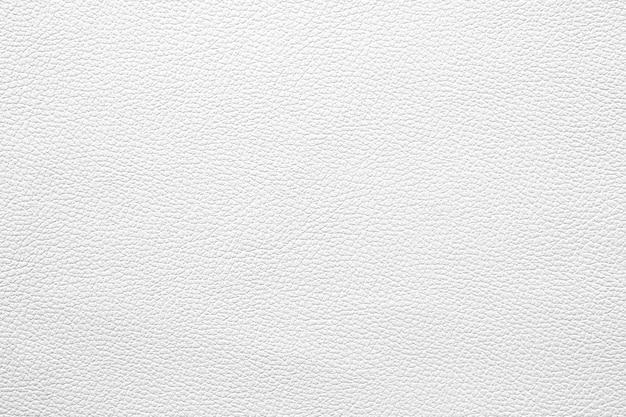 Motif de texture en cuir blanc