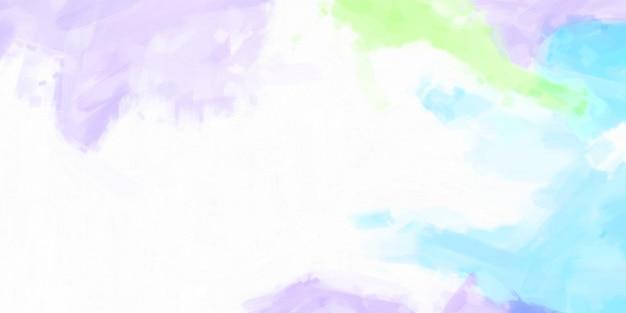 Motif de texture d'huile de coups de pinceau multicolore