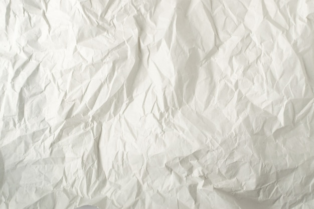Motif de texture de papier d'emballage gris froissé