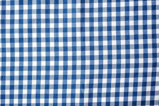 Motif en tissu à carreaux des petites cages sur la cage en tissu sans couture fabrick