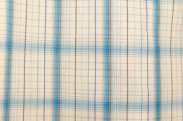 Motif de tissu écossais