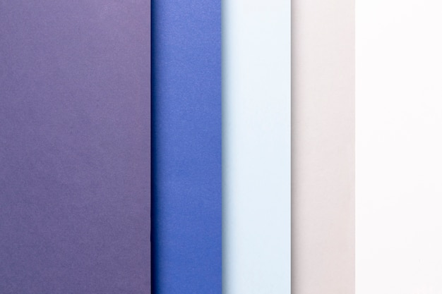 Motif de la vue de dessus avec des nuances de bleu