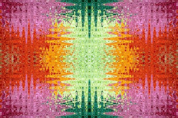 Motifs abstraits colorés pour le fond.