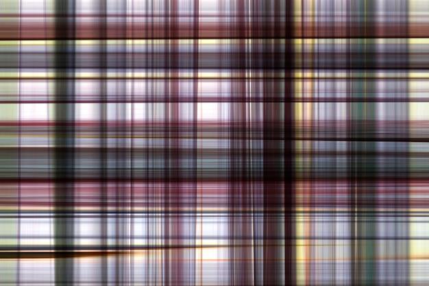 Motifs abstraits de plaid.
