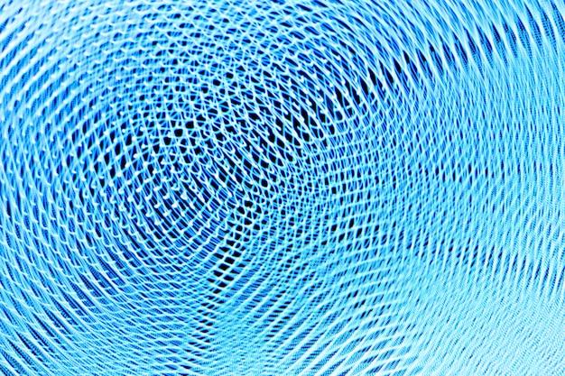 Motion blur technologie d'écran bleu.