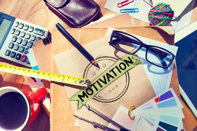 Motivation inspiration motiver confiance inspirer concept