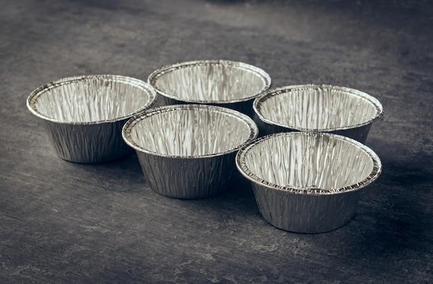 Moules en aluminium pour pâte de style vintage