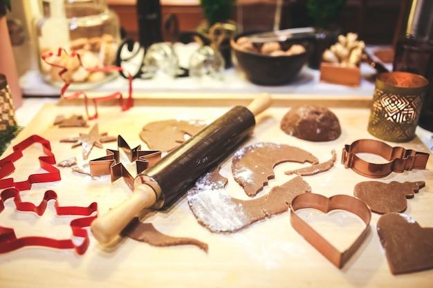 Moules de noël pour faire des biscuits