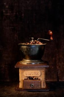 Moulin à café à l'ancienne