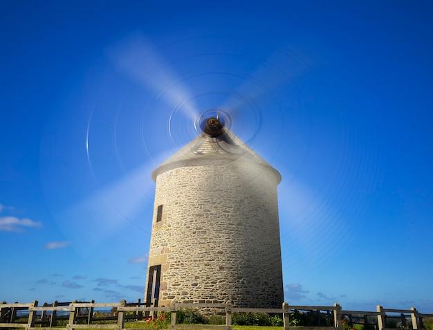 Le moulin de moidrey à pontorson en normandie, france.