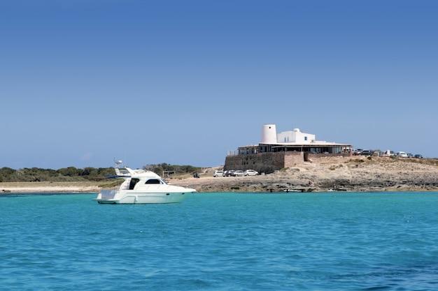 Moulin à sel illetes vue mer formentera