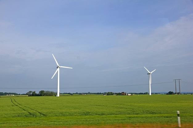 Moulin à vent sur le nord du danemark