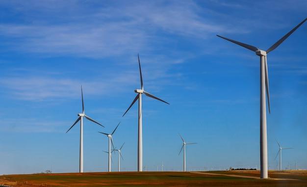Moulins à vent dans l'ouest du texas
