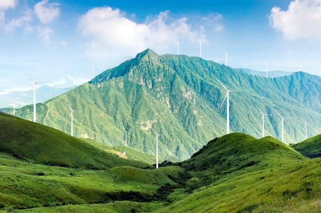 Moulins à vent de production d'énergie