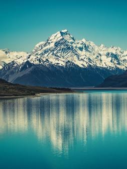 Mount cook en nouvelle-zélande