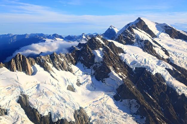 Mountain cook peak nouvelle-zélande