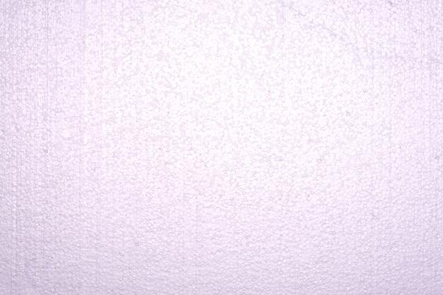 Mousse de polystyrène, fond de texture abstraite blanche