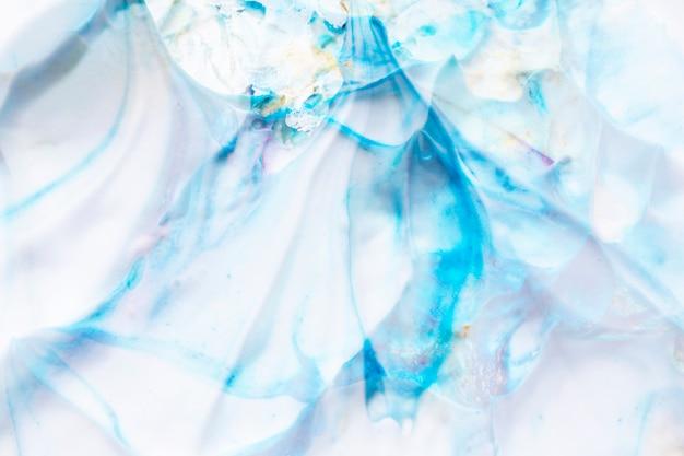 Mousse texturée abstraite lisse et fond de couleur