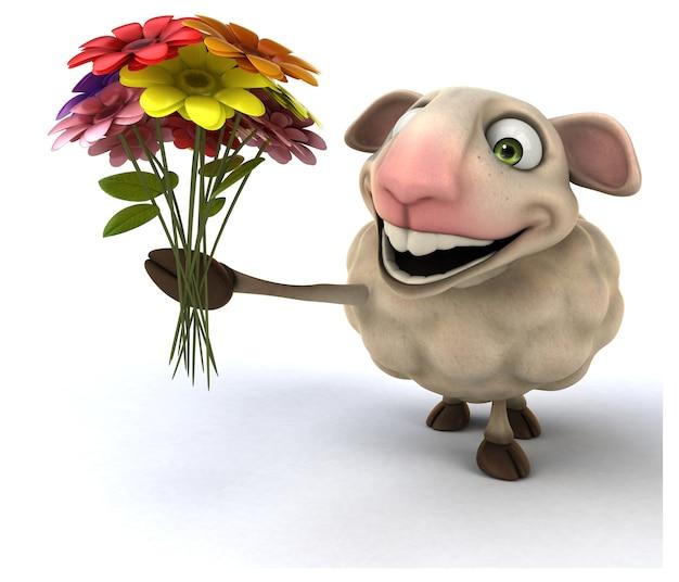 Moutons amusants