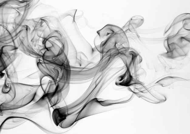 Mouvement de fumée abstrait feu conception