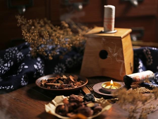 Moxibustion médecine chinoise