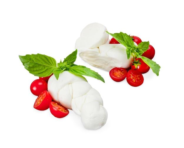 Mozzarella di bufala, produit laitier typique de la région de campanie au sud de l'italie.