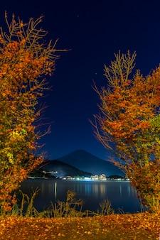 Mt. fuji en automne