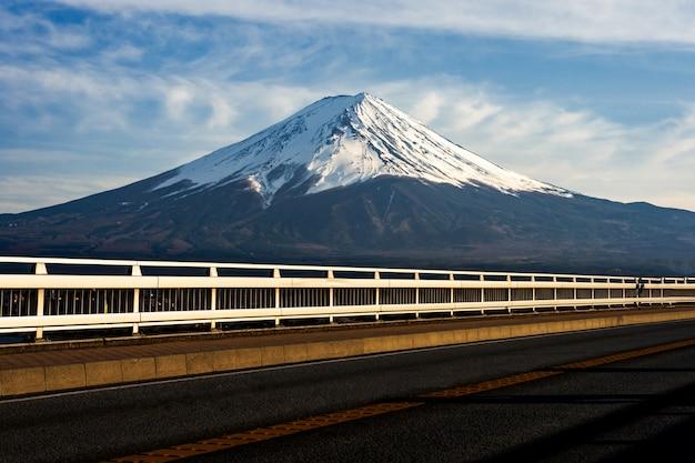 Mt. fuji à kawaguchiko fujiyoshida, japon.