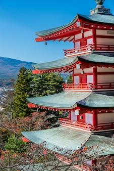 Mt.fuji et la pagode