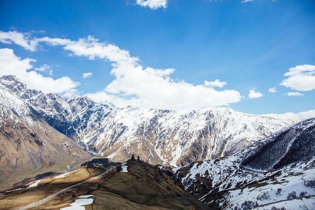 Mtskheta, région de mtianeti en géorgie