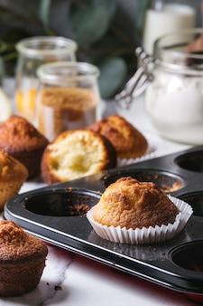 Muffins au citron faits maison