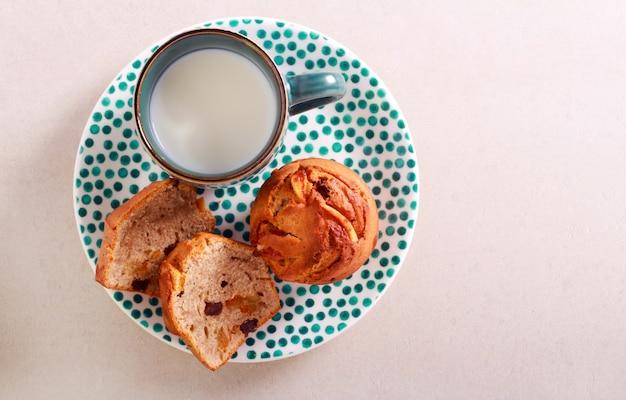 Muffins au son et aux raisins secs