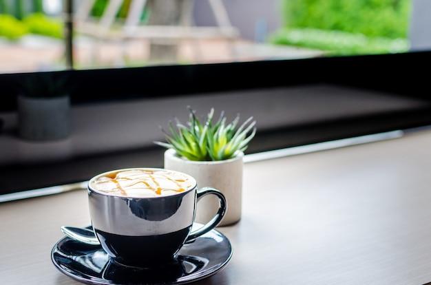 Mug à café noir