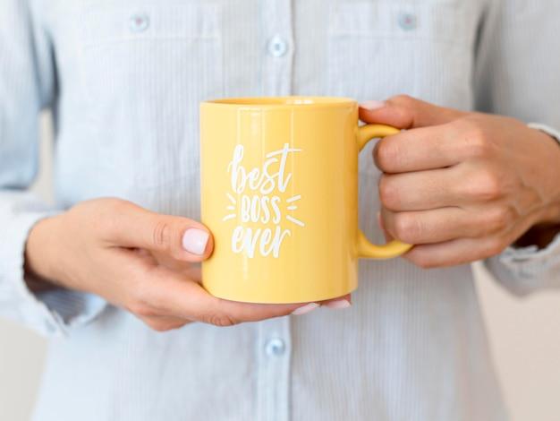 Mug avec le meilleur message de boss jamais
