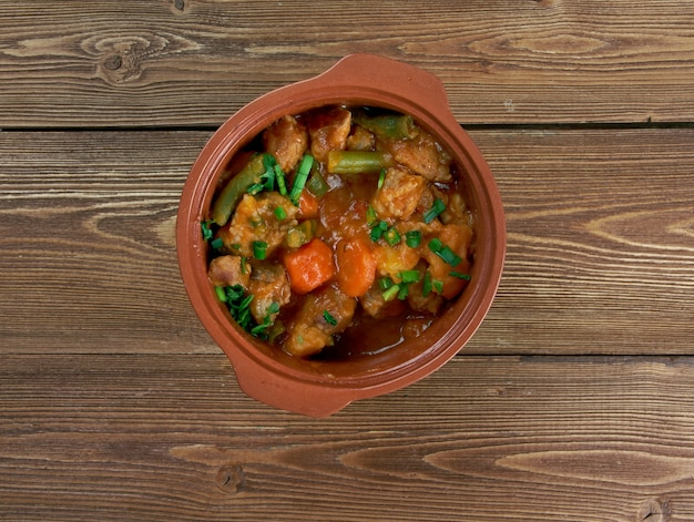 Mulligan stew - plat dit hobos américains.