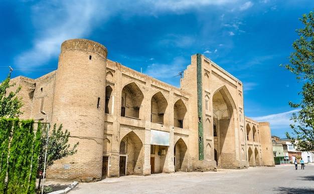 Mullo tursunjon madrasah à boukhara, ouzbékistan. asie centrale