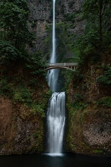 Multnomah falls en oregon