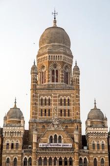 Municipal corporation building à mumbai, inde