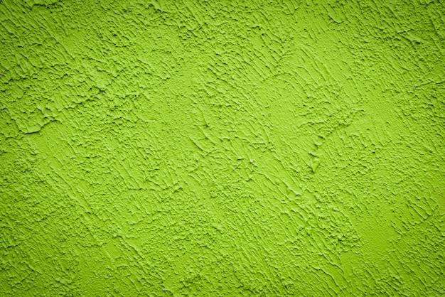 Mur abstrait peint surface ciment vert texture fond