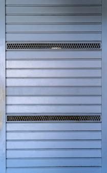 Mur d'acier bleu abstrait