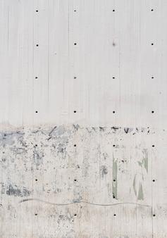 Mur en acier métallique avec trous
