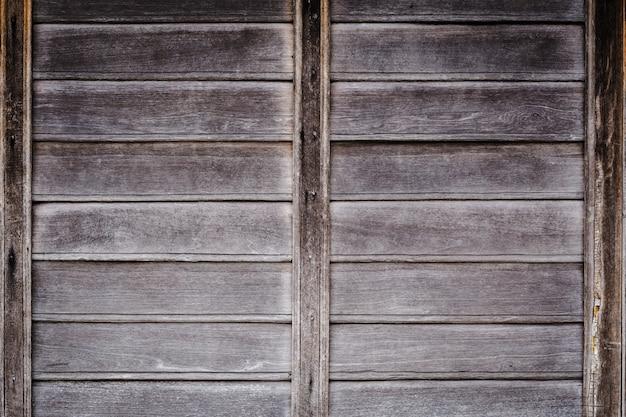 Mur d'architecte en bois vintage