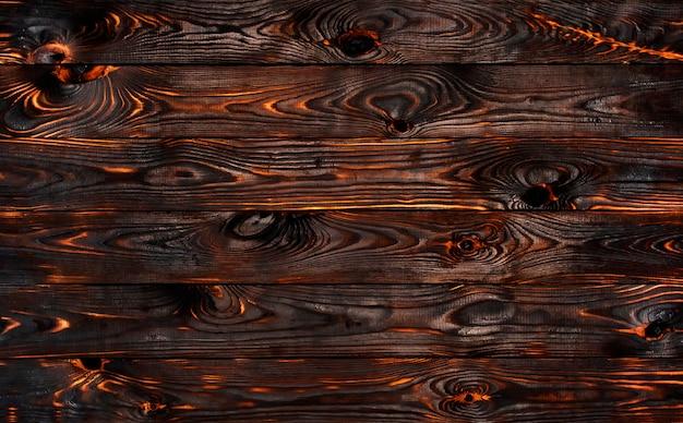 Mur de barbecue brûlé