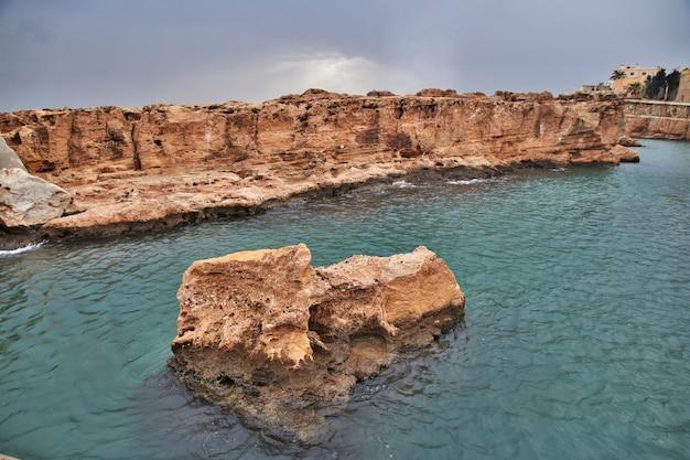 Le mur à batroun, au liban