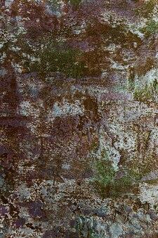 Mur de béton brut avec de la peinture