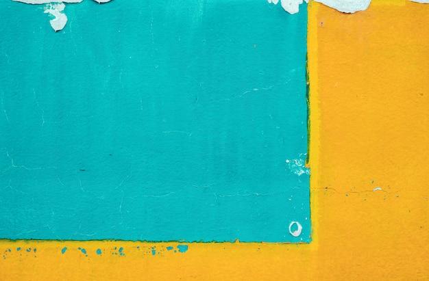 Mur de béton coloré minimaliste, abstrait ancien et vintage.