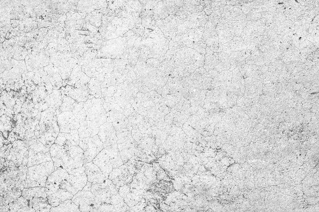 Mur de béton grunge de couleur blanche et grise