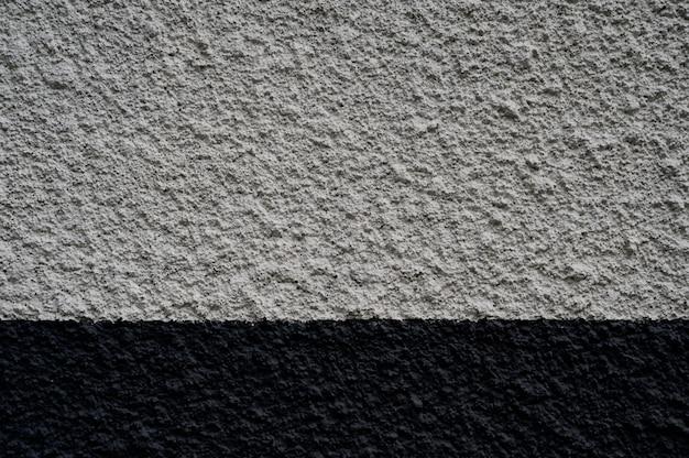 Mur de béton peint en couleur