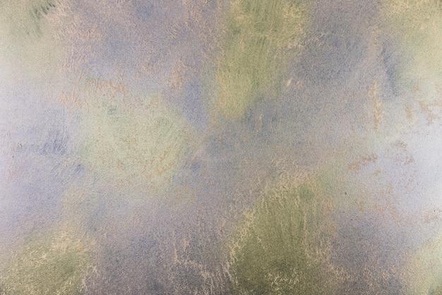 Mur en béton avec peinture et couleurs