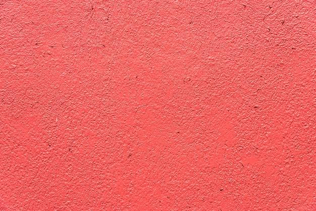 Mur de béton rose et rouge